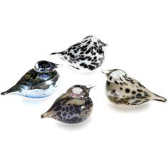 Iittala - Toikka Glass Birds ($85) ❤ liked on Polyvore
