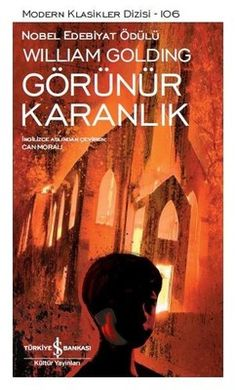 Turkish edition of Darkness Visible by William Golding, which we just received from Turkiye Bankasi Kultur Yayinlari William Golding, Reading Lists, Book Lists, Books To Read, My Books, New People, Book Names, Netflix Movies, Book Lovers