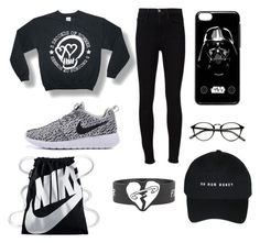 """""""Untitled #9"""" by auliaarist on Polyvore featuring Frame Denim and NIKE"""