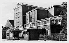 Sybold van Ravesteyn, Stadsgehoorzaal, Vlaardingen 1950-1952