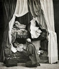 Women in An Opium Den, 1890