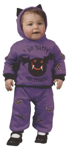 Hooded Bat 2Pc 6 12 Months Costume