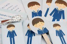 Postreadicción galletas decoradas, cupcakes y cakepops: Kit de fiesta de comunión para niños