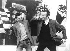Martin Kippenberg en Albert Oehlen