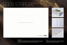 Gold staples ad