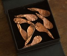 Not only maple leaves - now you can also have maple seeds covered with copper! Of course you won't be able to plant your own copper maple tree, but such seed is a good start.   We took real and...