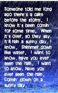 CCR - Have You Ever Seen the Rain