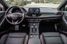 2018 Hyundai Elantra GT Sport Dashboard