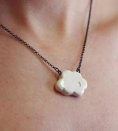 Cloud 9 Ceramic Necklace