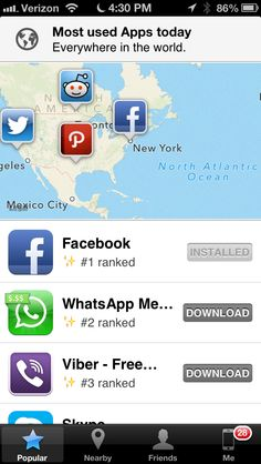 App Map for iOS now lets you see what apps your friends use, as well as people around you