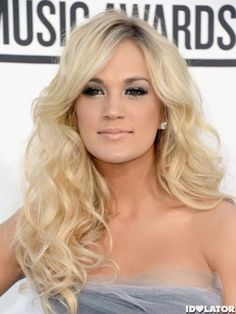 her hair is everything -   Carrie Underwood