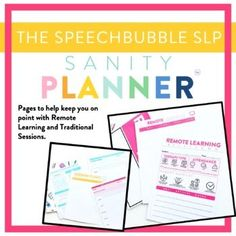 Planner for SLPs: It doesn't matter if you are just starting out or seasoned veteran, being organized can be tricky. Our jobs require us to be flexible so why not have a planner that is just as amenable! This professional but still oh so stylish planner contains contains just what a busy and SLP needs to help organiz...