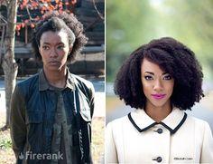 Sonequa Martin-Green (Sasha : The Walking Dead)
