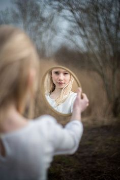 Portrait, mirror