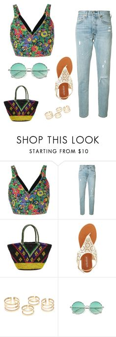 """Ethnic denim love so much 🌿🌹💧"" by explorer-14954287773 ❤ liked on Polyvore featuring 3.1 Phillip Lim, Levi's, Sensi Studio and Olivia Miller"