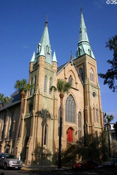 Wesley Monumental Methodist Church - Savannah, GA.