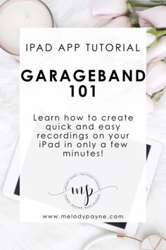 Who loves GarageBand for iPad! Me, me, me! I'm new at using it in my studio in 2017, and once I learned how easy it is to use, I wanted to share with you what I've learned so you can en…