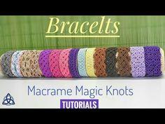 Diy bracelets by macrame magic knots macrametutorial macramebracelet bracelet tutorial diy macramemagicknots craft pattern easy howtomake Macrame Jewelry Tutorial, Macrame Bracelet Patterns, Diy Leather Bracelet, Macrame Bracelet Tutorial, Friendship Bracelets Tutorial, Macrame Art, Macrame Knots, Macrame Patterns, Macrame Bracelets