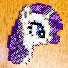 MLP Rarity perler beads by sweetsam_10