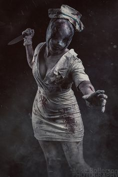 Silent Hill - Bubblehead Nurse | by Mike Rollerson Photography