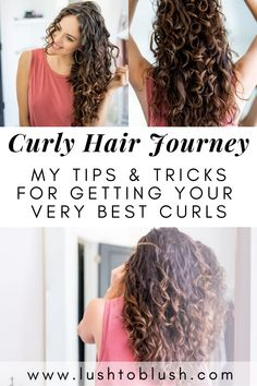 2C to 3A Curly Hair Transformation - Lush to Blush