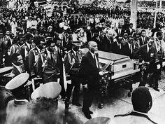 Funeral de Samora Machel em Moçambique
