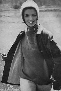 Vogue 1961 Model Dorothea McGowan