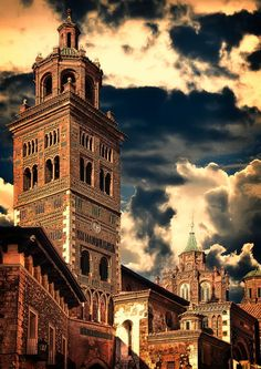 Catedral de Teruel jigsaw puzzle in Castles puzzles on TheJigsawPuzzles.com
