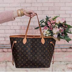 0291b52fca27 LAB Consignment Merchandise · Just landed! Louis Vuitton Neverfull MM!  #luxeforless #tapfordetails #taptoshop #louisvuitton