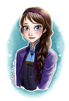 Elsa without ice powers.