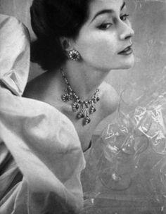 ♔ Vogue Paris glamour ~ 1952.