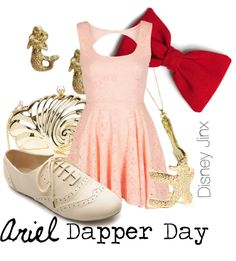 """Ariel - Dapper Day"" by shannazz ❤ liked on Polyvore"