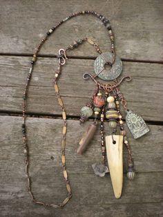 maggie zee amulet shaman talisman charm necklace