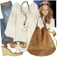 Hippie Style for Spring on #polyvore