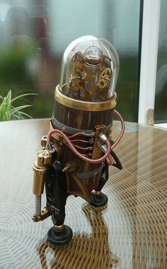 Steam Punk Robot by spyduck, via Flickr