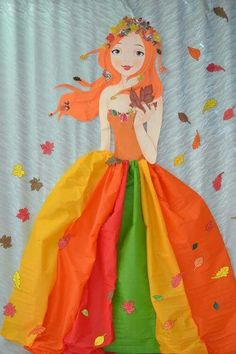Jesen Fish Crafts, Diy And Crafts, Crafts For Kids, Arts And Crafts, Autumn Crafts, Autumn Art, Autumn Activities, Activities For Kids, Winter Fairy