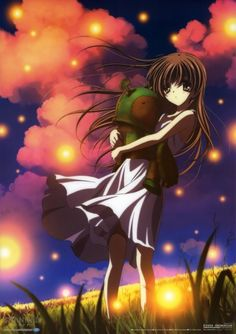 Ushio  from the other world and her buddy represents Tomoya <3