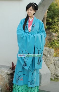Traditional Chinese Women's Cotton Hanfu