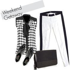 """""""Weekend Getaway Template"""" by lavendergal on Polyvore"""