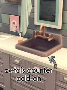 LUB DUP WOODEN FLOORS & RETRO BIG BASIN SINK – by amoebae  A recolour of Parenthood's Retro Big Basin Sink, and an add-on with recolours of the counter-top version by @zx-ta (mesh required). Many thanks to zx-ta for the permission.  And a recolour of...