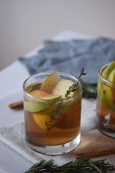 Apple Cider Whiskey Recipe ~ Craft Cocktail ~ FoodieFather.net