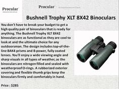 Bushnell has been a premiere name in sports optics or over sixty years. Bushnell offers a full range of optical enhancers that can be used in a wide range of sporting activities from hunting to golfing.   Website – http://procular.com.au