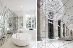 Красивые зеркала в интерьере: 5 идей, 50 фото