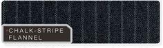 Chalk stripe flannel pattern