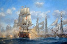Patrick O'Brien. Battle of Trafalgar. J. Russell Jinishian Gallery, Inc.