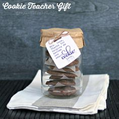 Easy Cookie Teacher Appreciation Gift