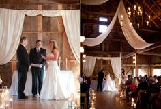 This wedding took place at the Barn on Walnut Hill in North Yarmouth. Photo by Meredith Perdue www.realmaineweddings.com