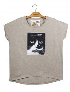 Camiseta Algodão Reta Gato www.usenatureza.com #UseNatureza #JeffersonKulig