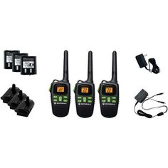 20-Mile Talkabout(R) 2-Way Radio Triple Pack with Accessories - MOTOROLA - MD200TPR