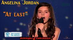 Angelina Jordan -  At last -  Artist Galla (Bli Plan Fadder 13.12.2014)